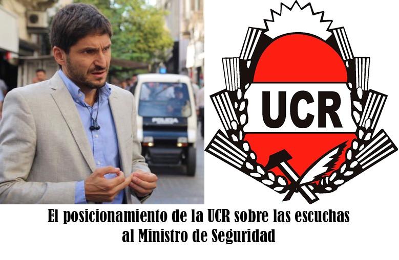 Respaldo de la UCR al Ministro Pullaro