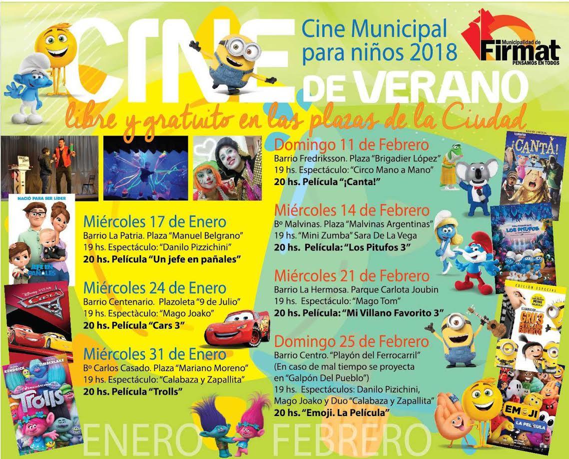 Ciclo Municipal de Cine para Niños 2018 - Enredados.com.ar