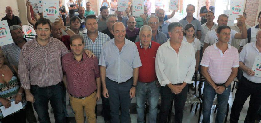 La provincia entregó aportes económicos a clubes del sur santafesino