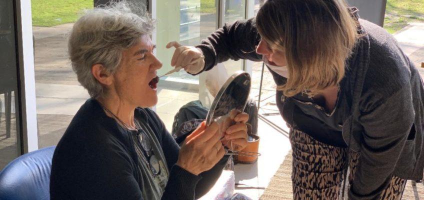 Iapos llevó la campaña de prevención del cáncer bucal a Venado Tuerto