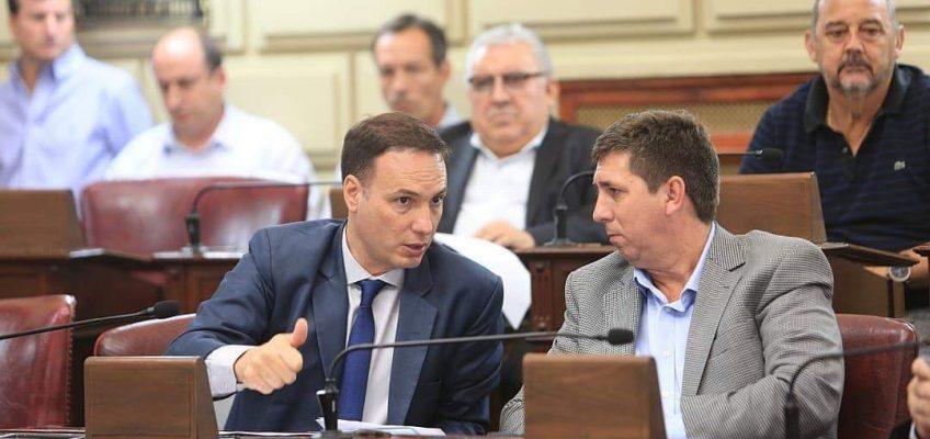 El senador Enrico acompañó la ley que establece la creación de un nuevo Instituto Terciario en Firmat