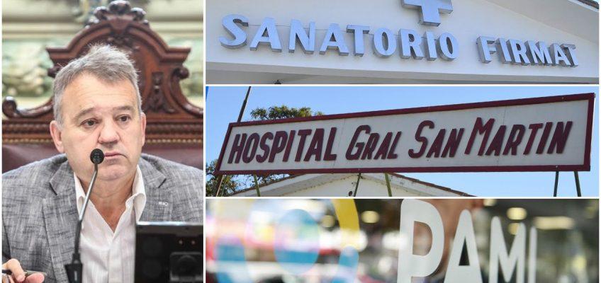 Rápida intervención del diputado Gabriel Real solicitando se cancele la deuda de Pami con Sanatorio Firmat
