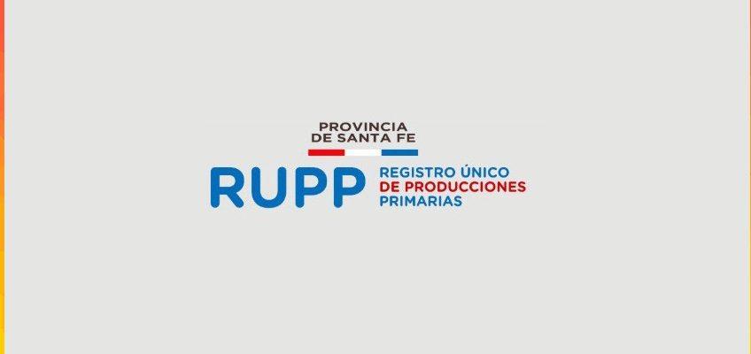 Actualización del Registro Único de Productores Primarios (RUPP)