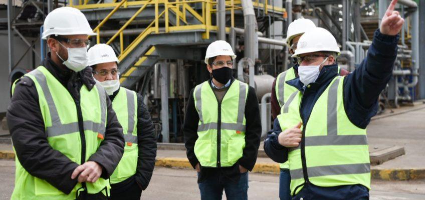 El gobierno de Santa Fe fiscalizó empresas en el departamento Caseros
