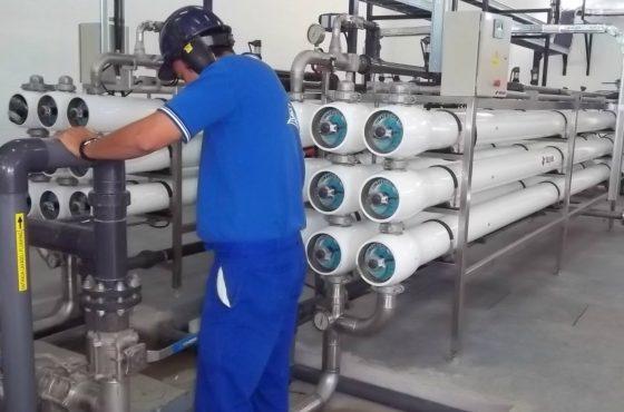 La provincia licitará obras de mantenimiento y mejora en la planta potabilizadora de agua de Rufino