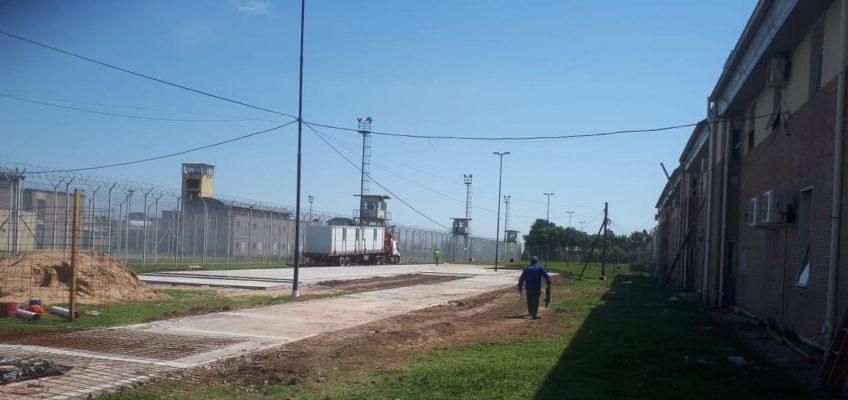El Hospital Modular comienza a tomar forma en la Unidad Penitenciaria de Piñero