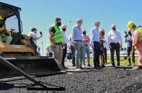 En Villa Constitución, Perotti y Katopodis anunciaron importantes obras viales