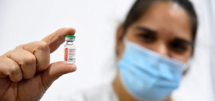 Covid-19: La provincia comenzó a vacunar con las segundas dosis de Sputnik V
